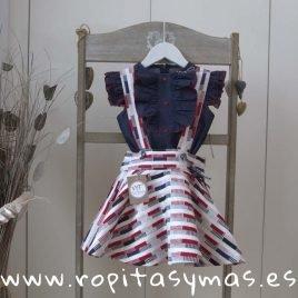 Conjunto falda MAORÍ de NOMA, verano 2019