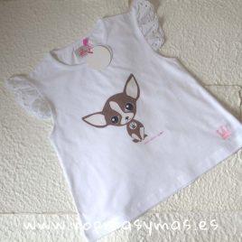 Camiseta patuca EVA CASTRO niña, verano 2019
