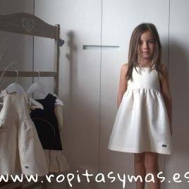Vestido lino crudo PARADE de EVE CHILDREN, verano 2019