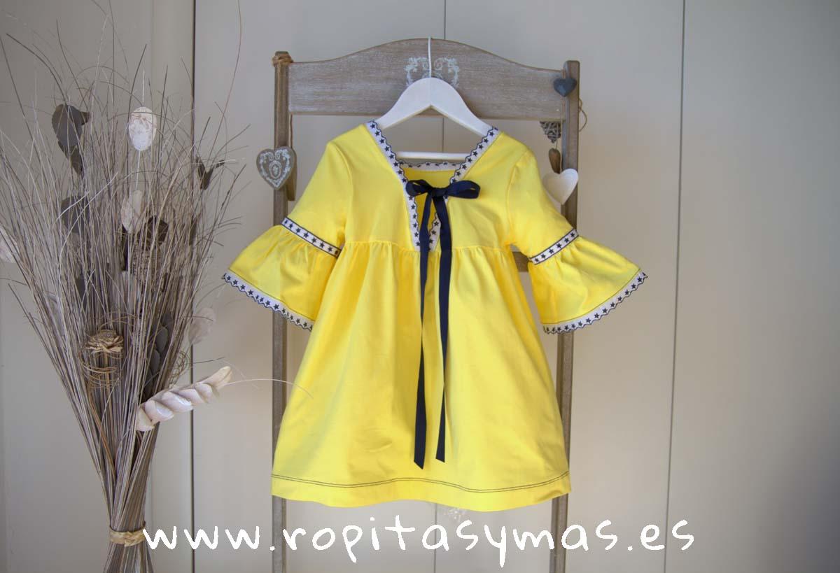 Vestido amarillo LEMON LEMONADE de MAMI MARÍA