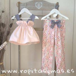 Pantalón rosa BLOSOM de MAMI MARÍA, verano 2019