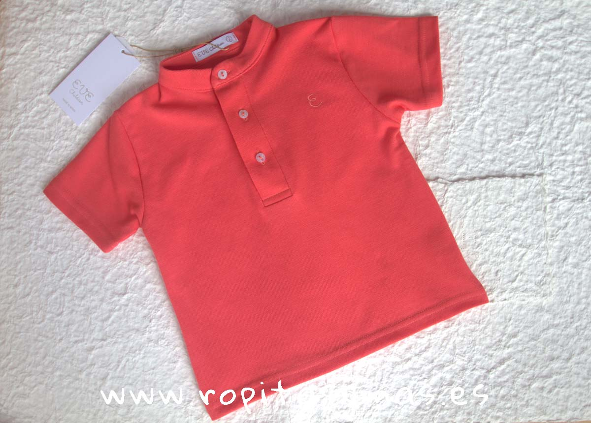 Polo mao coral MULET de EVE CHILDREN
