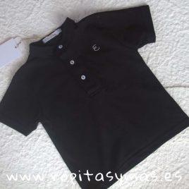 Polo mao negro JIRAFFE de EVE CHILDREN, Verano 2021