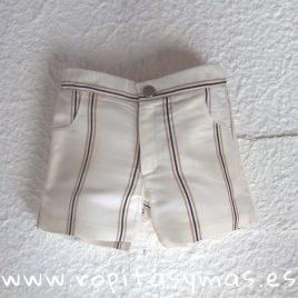 Pantalón corto rayas PARADE de EVE CHILDREN, verano 2019