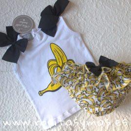 Braguita plátanos de MON PETIT BONBON, verano 2019