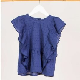 Blusón plumeti azul BALLENAS de KIDS CHOCOLATE, verano 2019
