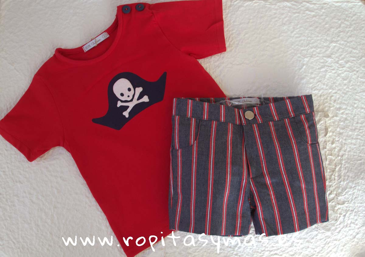 043164dfa Conjunto niño camiseta calavera SKULL EVE CHILDREN