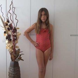 Bañador niña calaveras SKULL de EVE CHILDREN, verano 2019