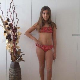 Bikini volantes calaveras SKULL de EVE CHILDREN, verano 2019