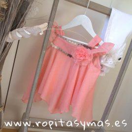 Blusón vaporoso rosa YOUNG&CHIC de KAULI, verano 2019