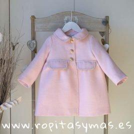 Abrigo rosa ATELIER de MAMI MARIA, verano 2019
