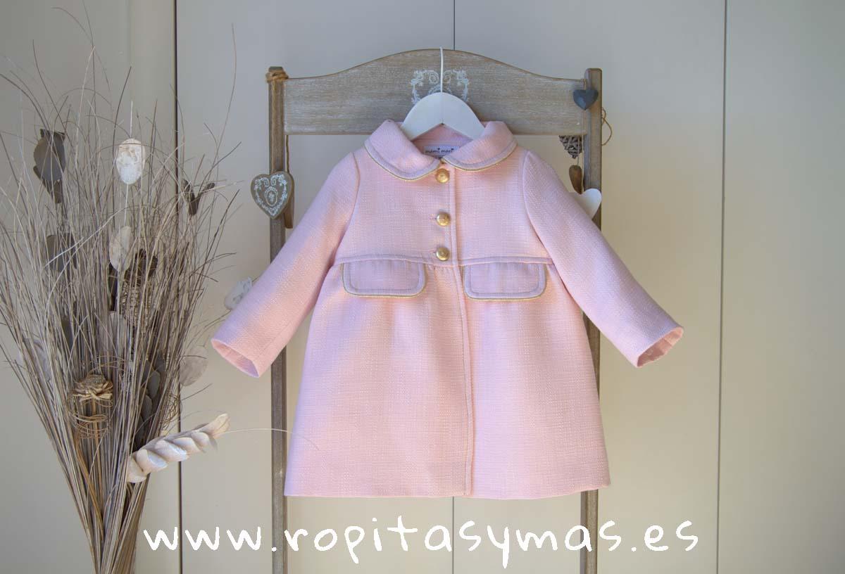 Abrigo rosa ATELIER de MAMI MARIA