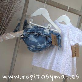 Ranita azul camuflaje de MIA Y LIA, verano 2019
