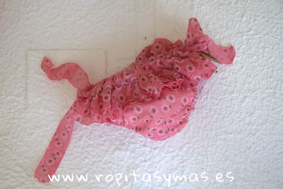 Ranita rosa GIRASOLES de MIA Y LIA