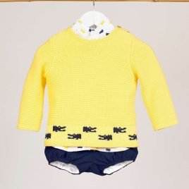 Jersey amarillo cocodrilos LEMON de KIDS CHOCOLATE, verano 2019