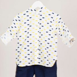 Camisa cocodrilos LEMON de KIDS CHOCOLATE, verano 2019