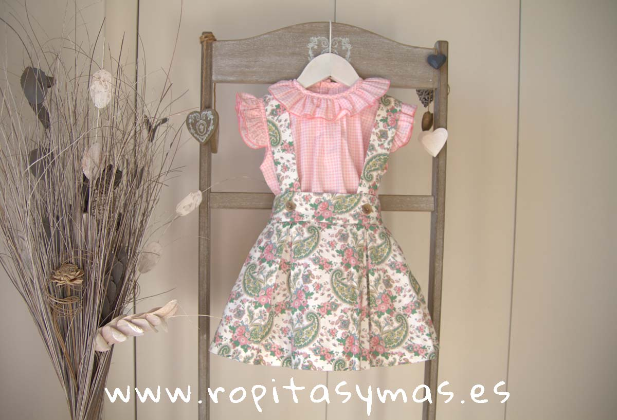 Conjunto pichi y blusa MATILDA de EVA CASTRO