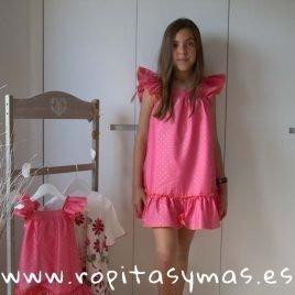 Vestido fresa TOPITOS de KIDS CHOCOLATE, verano 2019