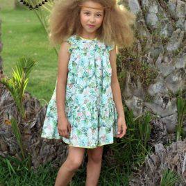 Vestido floral LIMA LIMON de COCCO ROSSE, verano 2019