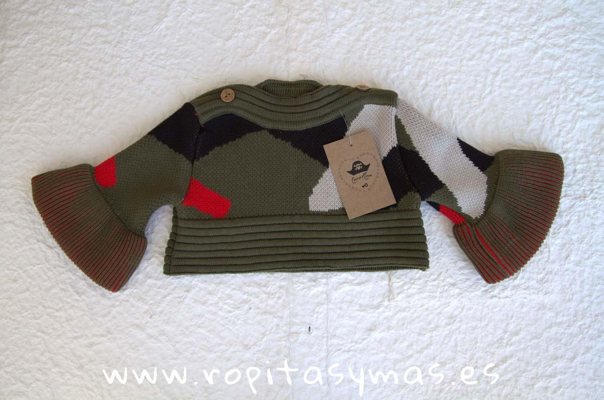 Jersey corto camuflaje PÓKER de COCCO ROSE