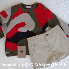 Conjunto niño pantalón y jersey PÓKER de COCCO ROSE, verano 2019
