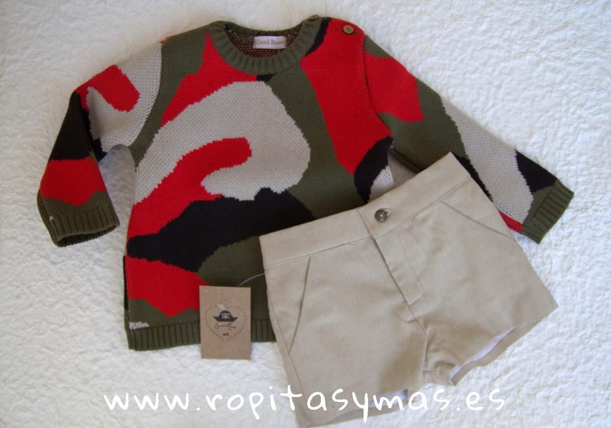 Conjunto niño pantalón y jersey PÓKER de COCCO ROSE
