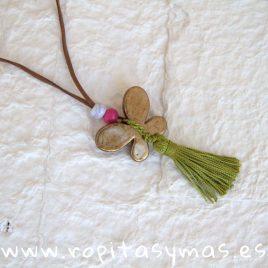 Collar LILLIUM verde de MAMI MARÍA, verano 2019