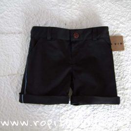 Pantalón corto negro de MIA Y LIA verano 2019