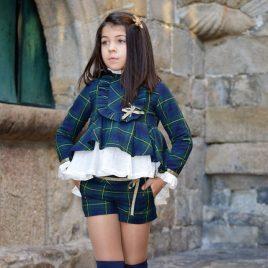Conjunto short-casaca escocés ORIÓN de NOMA, invierno 2019