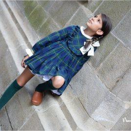Vestido escocés ORIÓN de NOMA, invierno 2019