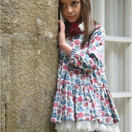 Vestido floral MIMOSA de NOMA, invierno 2019