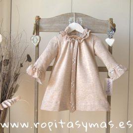 Vestido felpa PALOMAS de ANCAR, invierno 2019