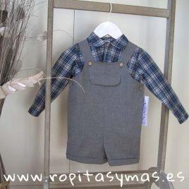 Peto gris ESCOCES niño de ANCAR, invierno 2019
