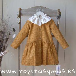 Vestido camisero MOSTAZA de ANCAR, invierno 2019