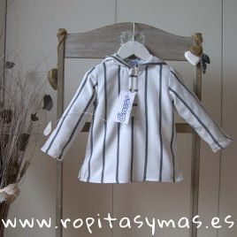 Camisa capucha rayas ERIZOS de ANCAR, invierno 2019