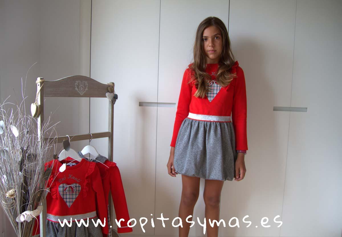 Vestido globo YOUNG&CHIC OUI de KAULI
