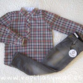 Camisa niño mao YOUNG&COOL OUI de KAULI, invierno 2019