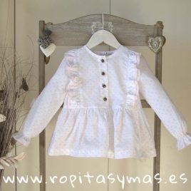 Blusa blanca KENIA de MAMI MARIA, invierno 2019