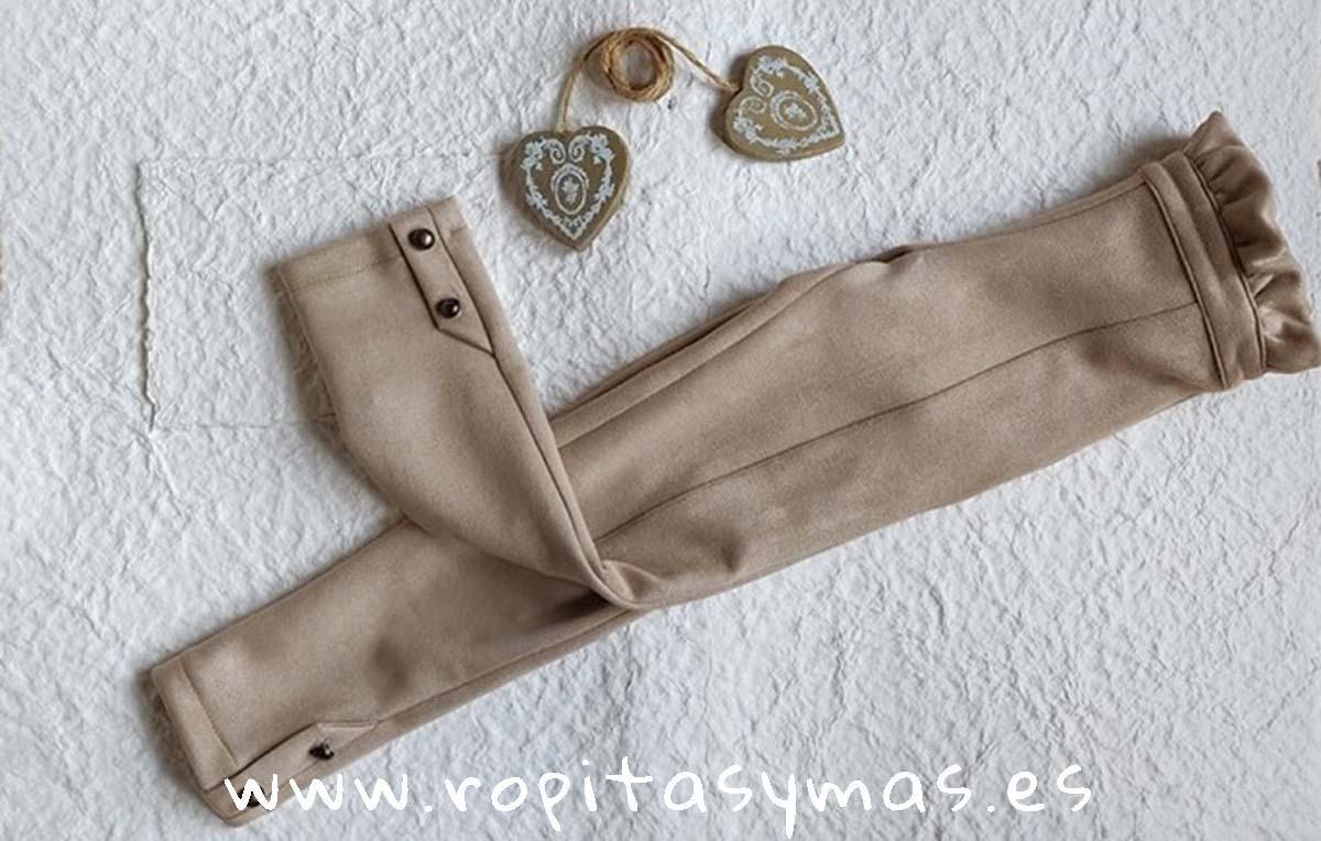 Pantalón beige ATHINA de MAMI MARÍA