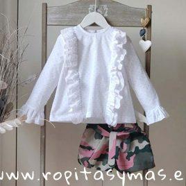 Camisa blanca KENIA de MAMI MARIA, invierno 2019