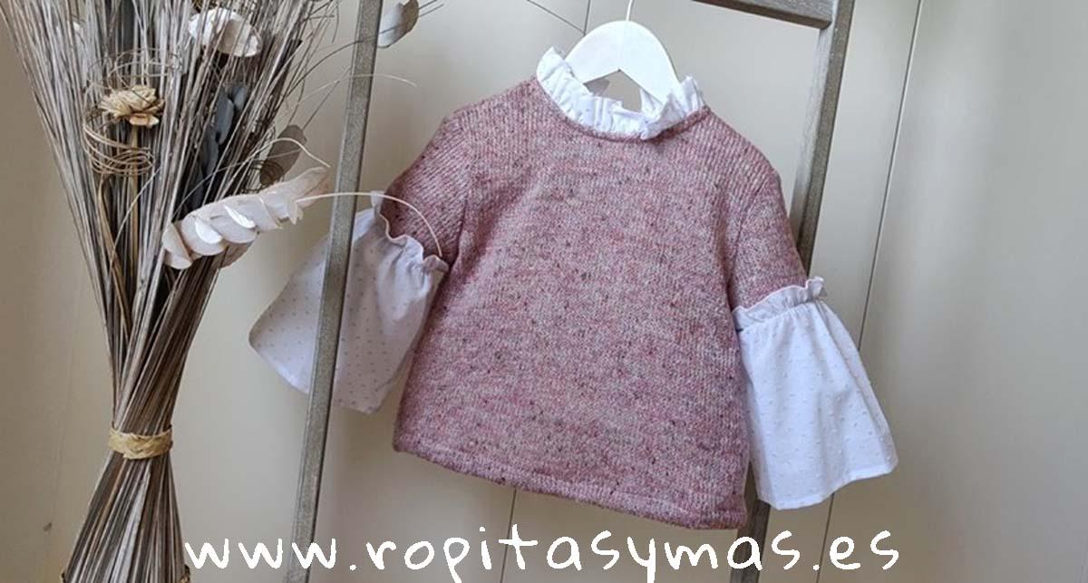 Jersey rosa SAFARI de MAMI MARIA