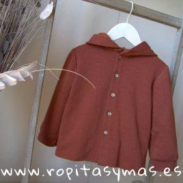 Camisa niño capucha caldero de MIA Y LIA, invierno 2019
