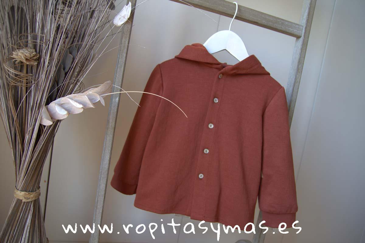 Camisa niño capucha caldero de MIA Y LIA