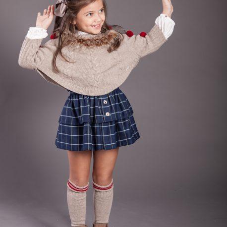 Topo blusa ,falda y jersey