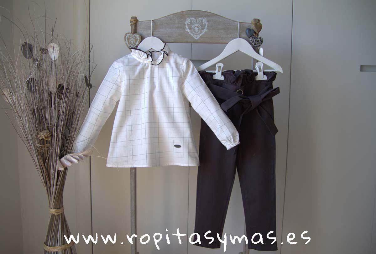 Conjunto niña pantalón PALE de EVE CHILDREN
