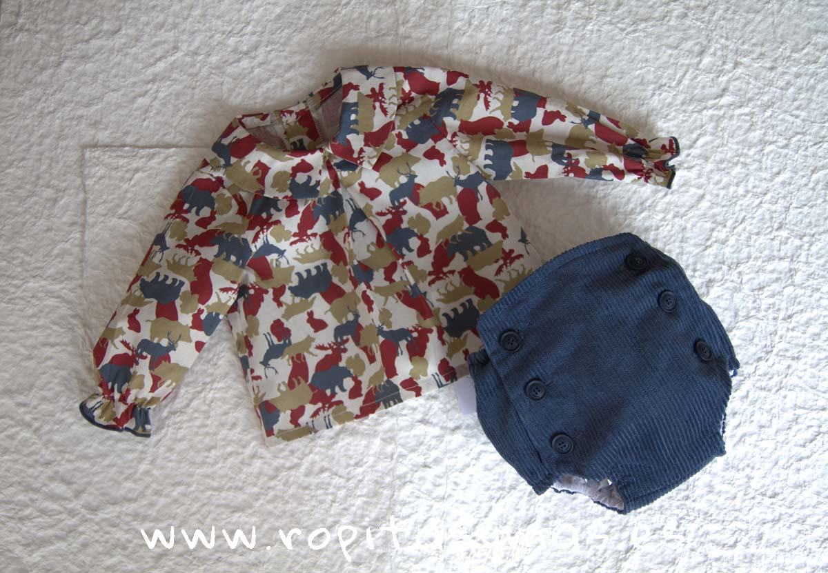 Conjunto bebe animales WILD de EVE CHILDREN