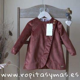 Vestido terciopelo BALMORAL de EVE CHILDREN, invierno 2019
