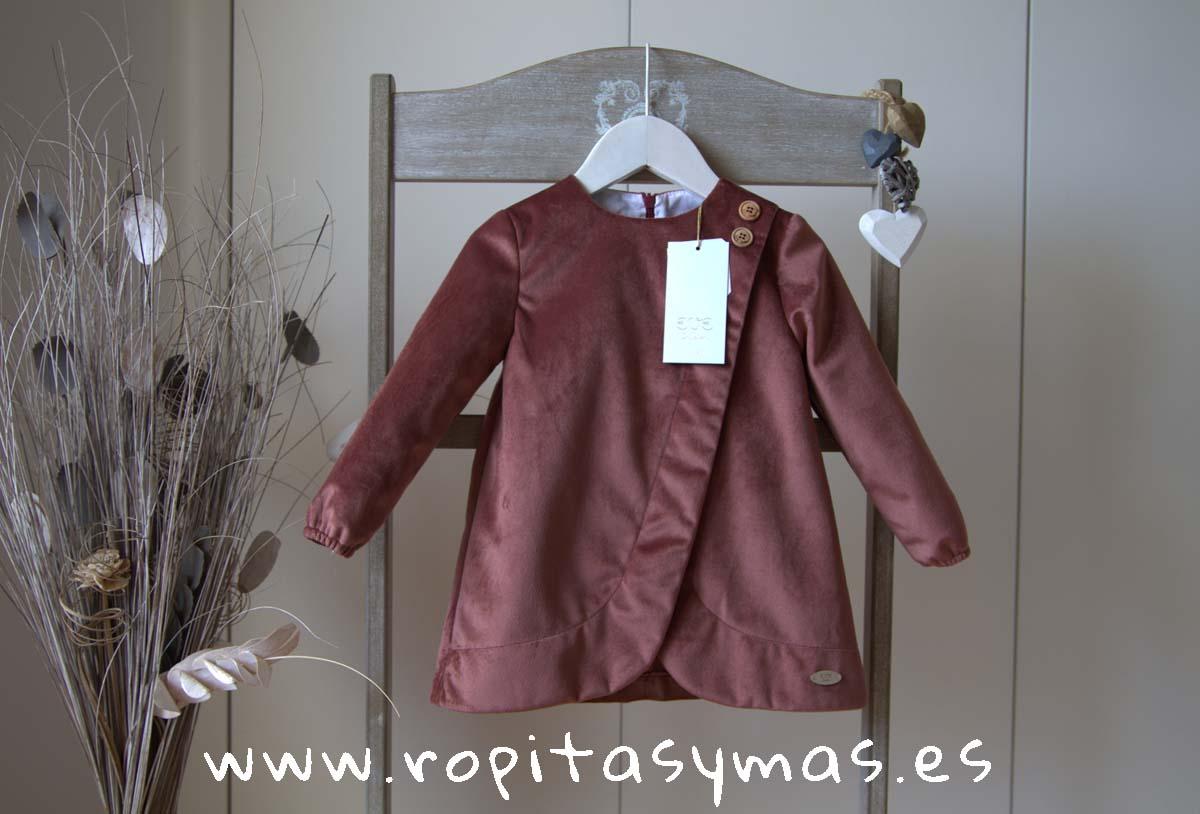 Vestido terciopelo BALMORAL de EVE CHILDREN