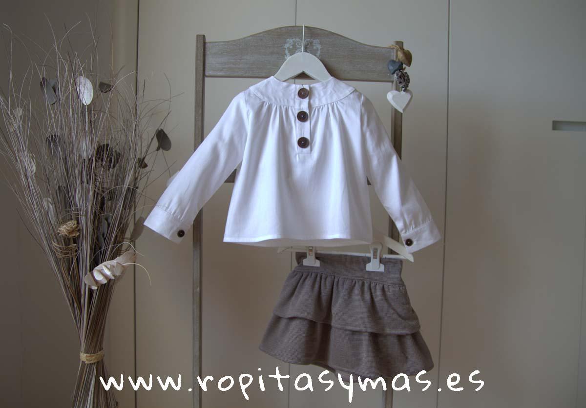 Conjunto falda pata de gallo BALMORAL de EVE CHILDREN