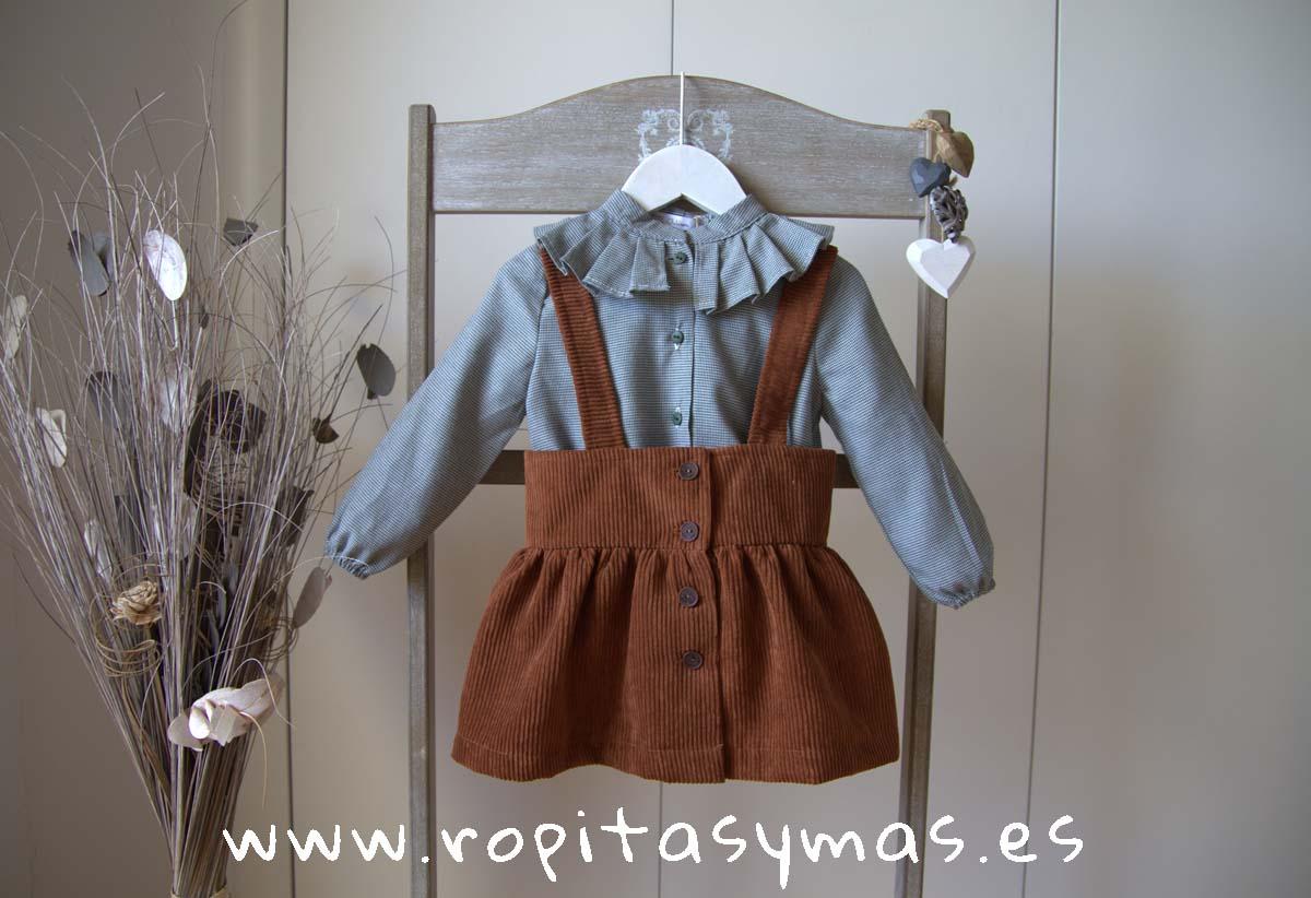 Conjunto falda caldero LEAF de EVE CHILDREN